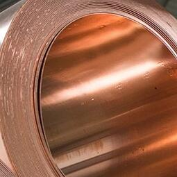 Copper coiling