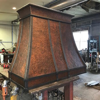Red Iron Range Hoods - A Mead Metals Success Story